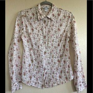 A&F Button Down Floral Shirt